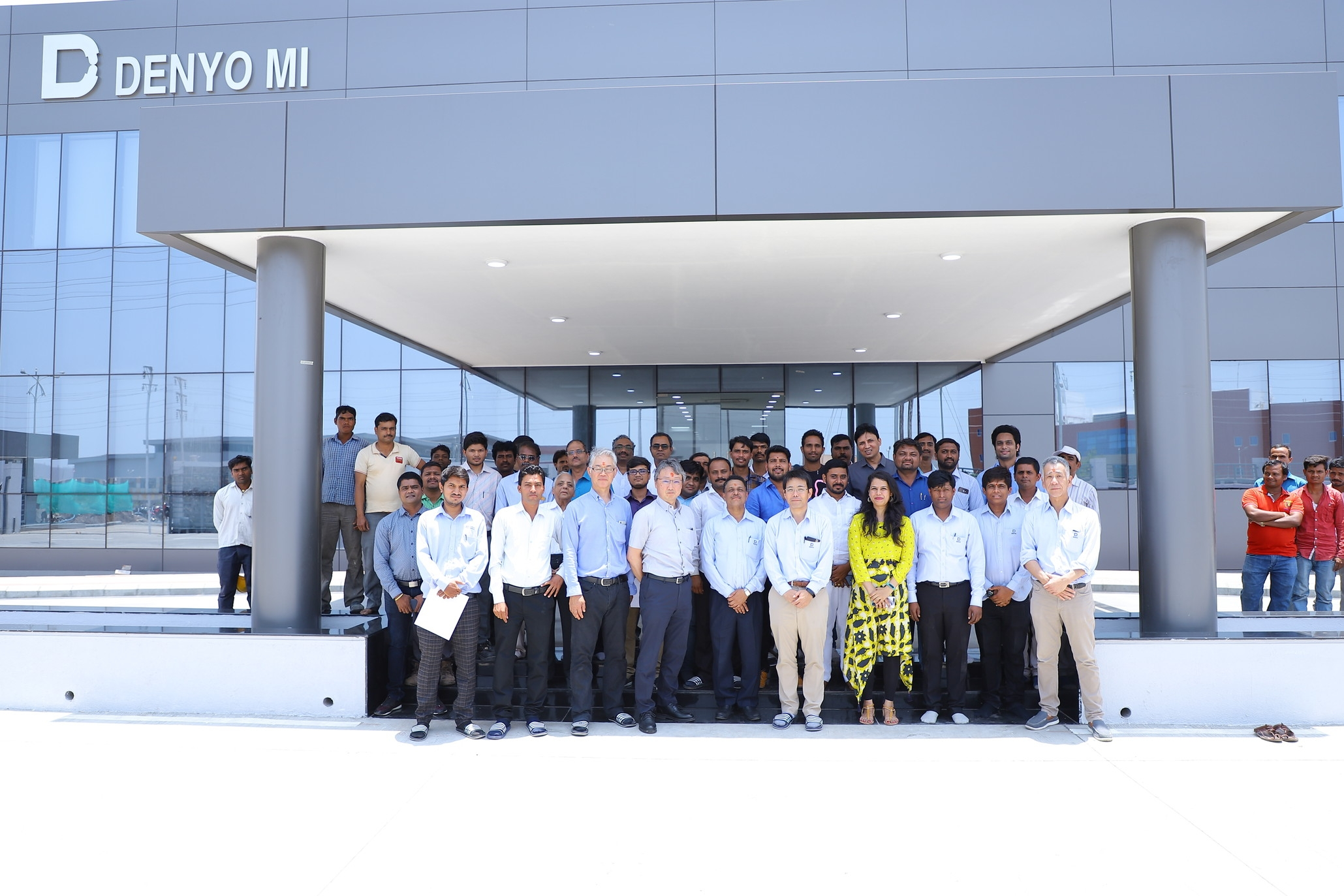 Denyo Manufacturing India (DMI) plant construction completed
